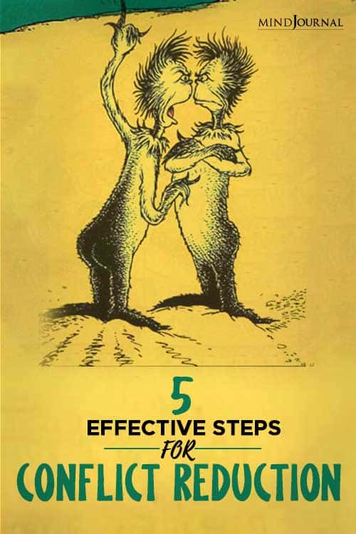 Effective Steps For Conflict Reduction PIN