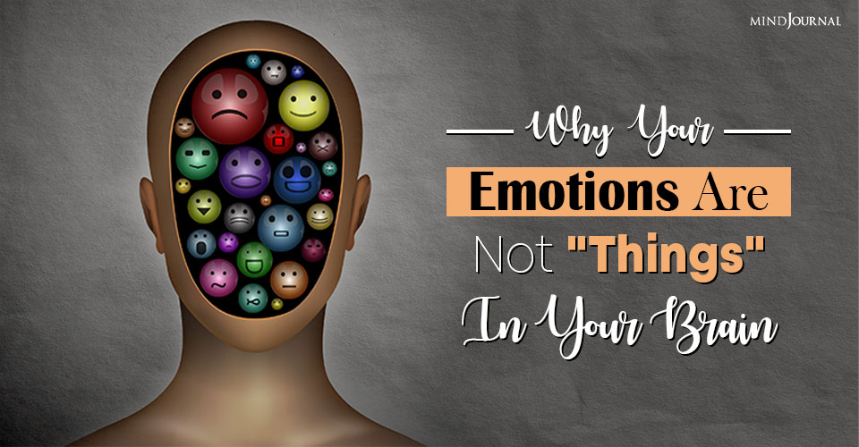 Emotions Are Not Things In Your Brain