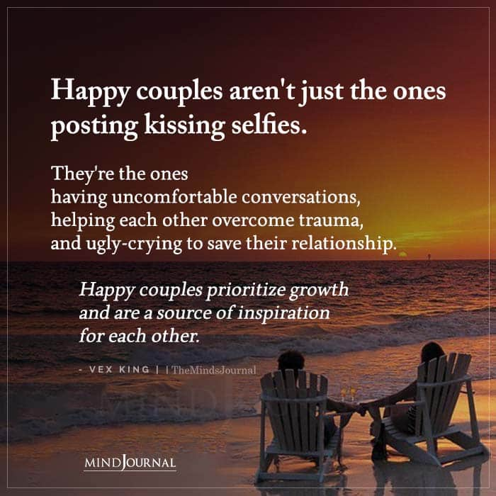 Happy Couples Arent Just The Ones Posting Kissing Selfies
