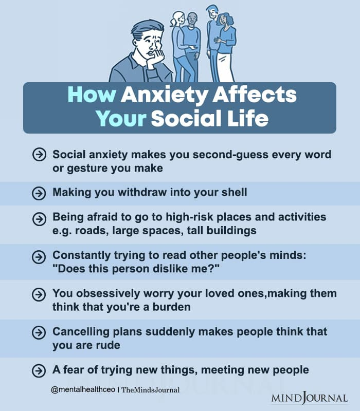 How Anxiety Affects Your Social Life