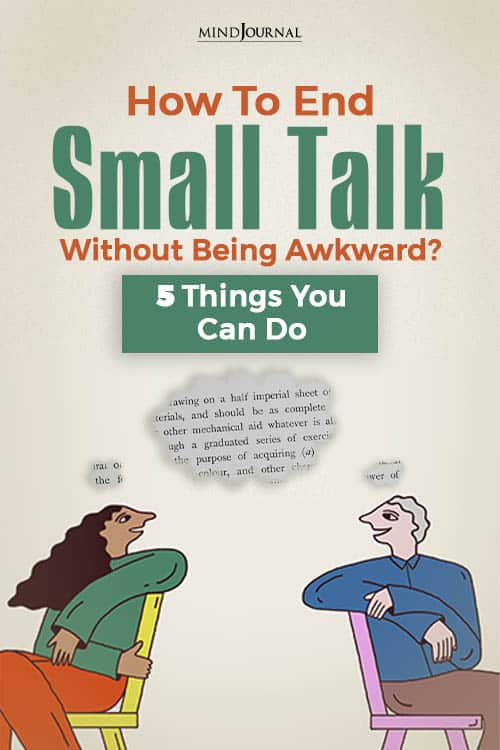 How To End Small Talks PIN