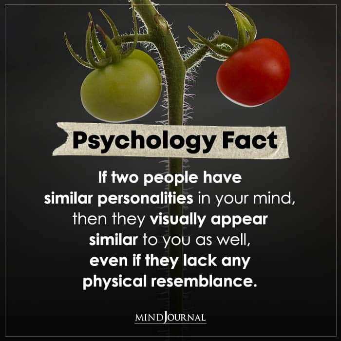 If Two People Have Similar Personalities In Your Mind
