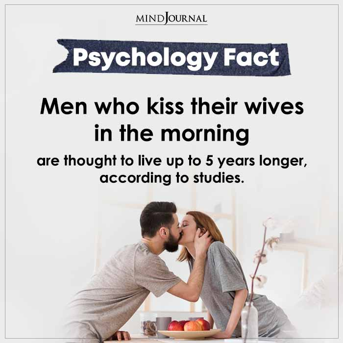 Men Who Kiss Their Wives In The Morning Are Thought