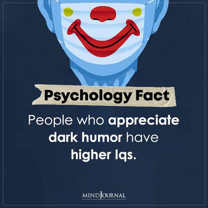 People Who Appreciate Dark Humour Have Higher Iqs