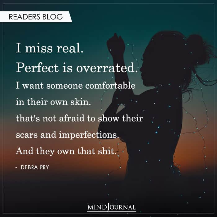 Perfect is Overrated