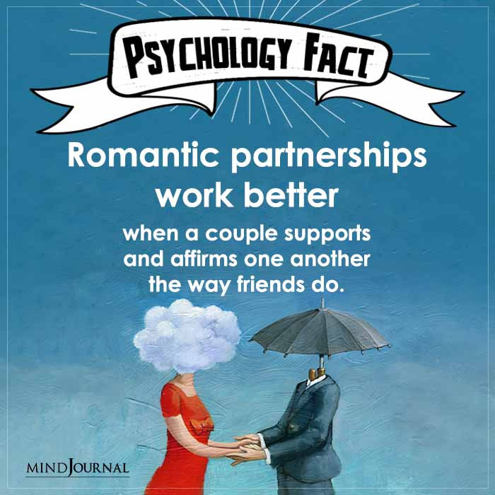 Romantic Partnerships Work Better When A Couple Supports
