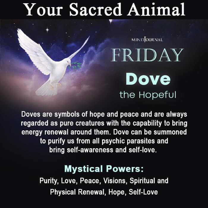 Sacred Animal Of Your Day Of Birth Friday