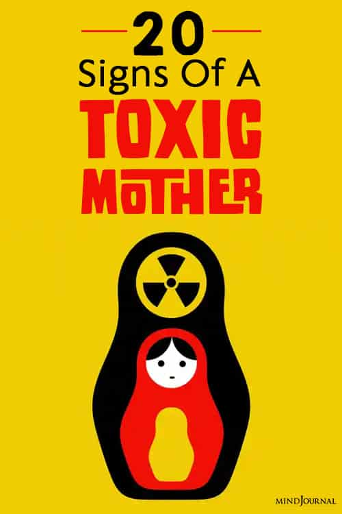 Signs Of A Toxic Mother pin