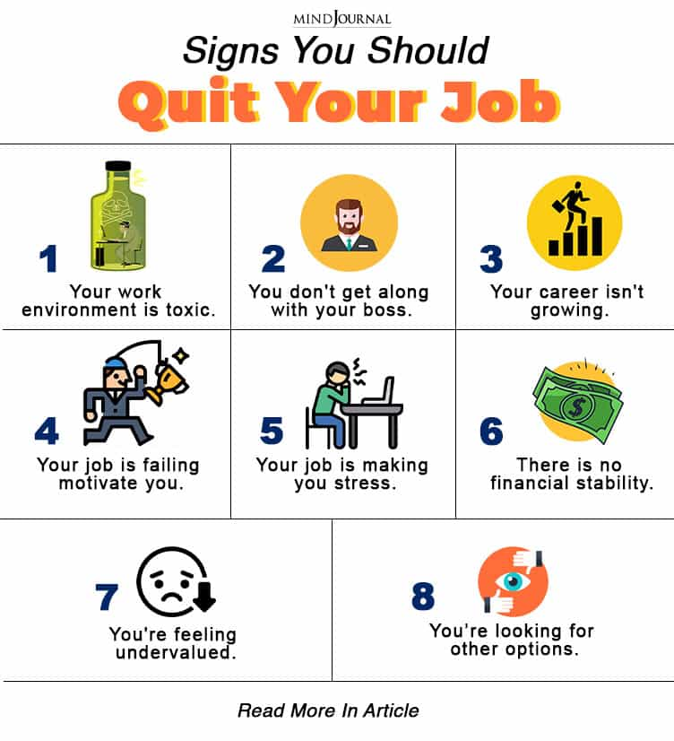 Signs You Should Quit Your Job info