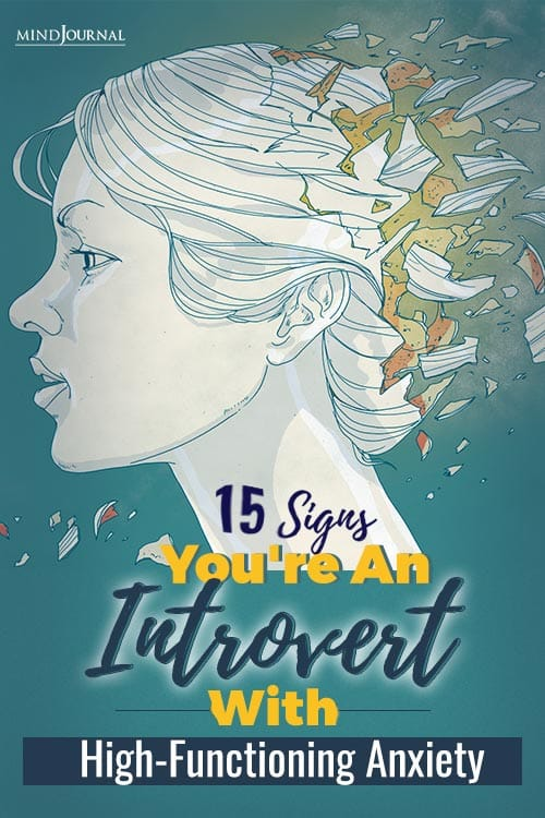 Signs You're An Introvert With High-Functioning Anxiety PIN one