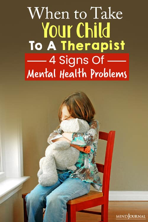 Signs of Mental Health Problems in Children pin