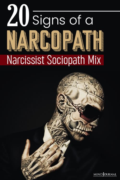 Signs of a Narcopath pin