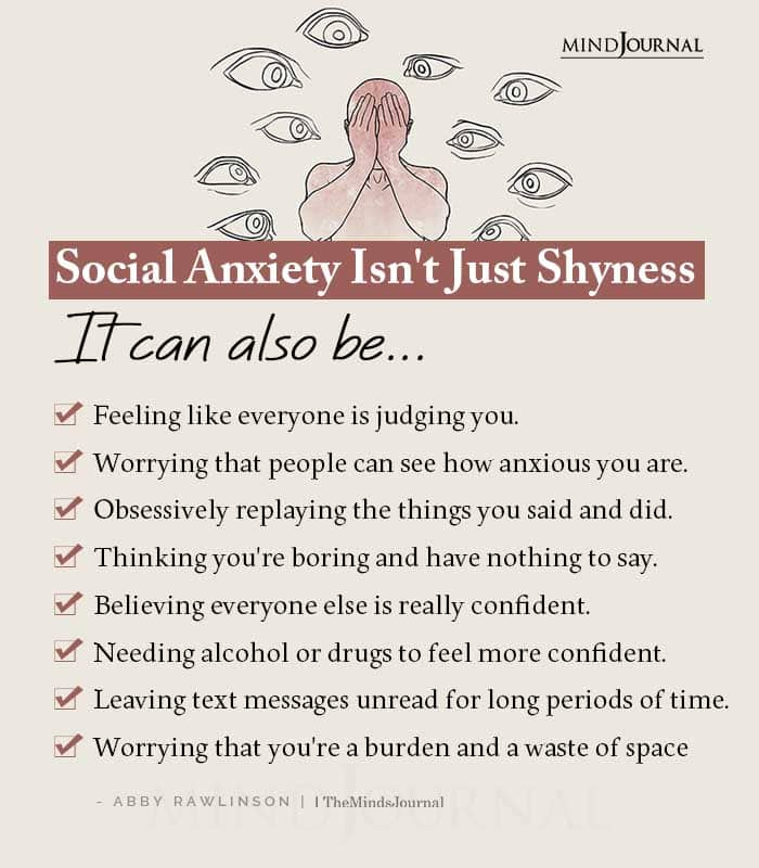 Social Anxiety Isnt Just Shyness