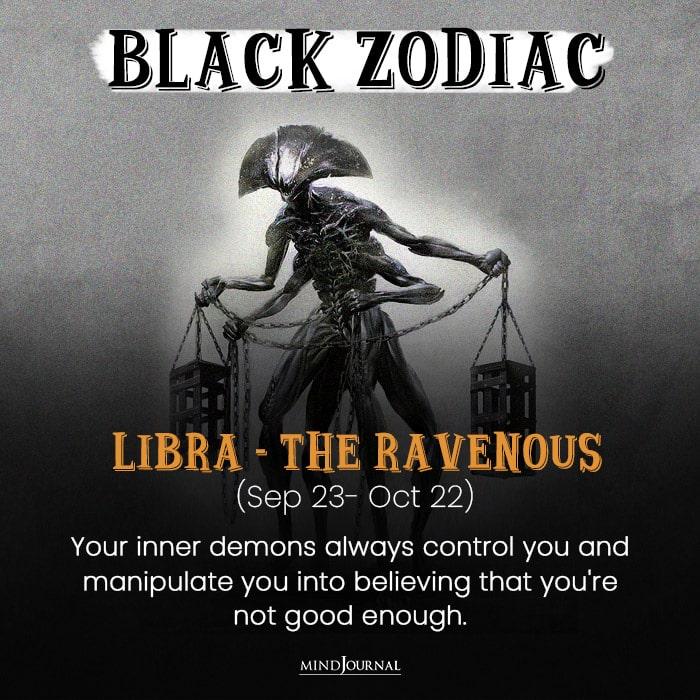The Evil Side Of libra