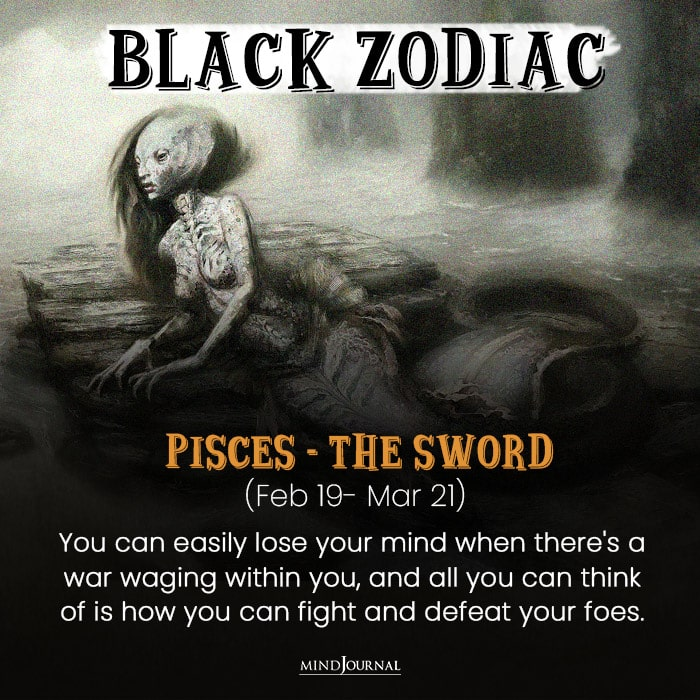 The Evil Side Of pisces