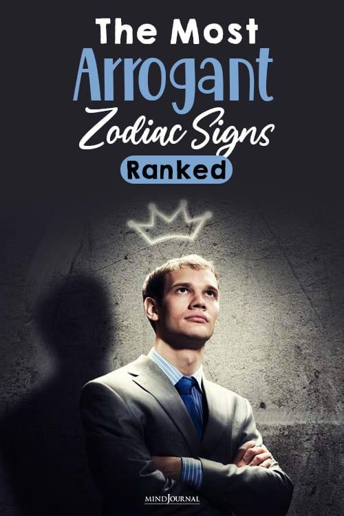 The Most Arrogant Zodiac pin