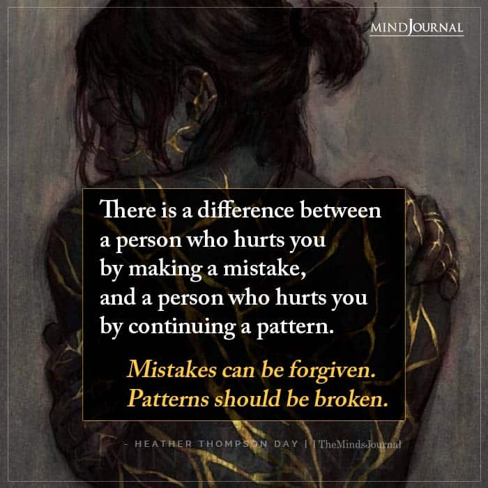 There Is A Difference Between A Person Who Hurts You