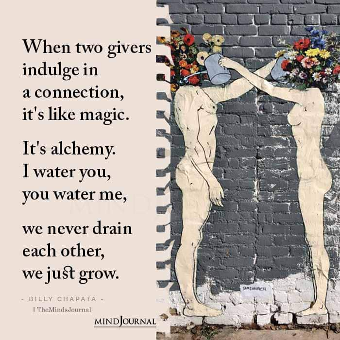When Two Givers Indulge In A Connection