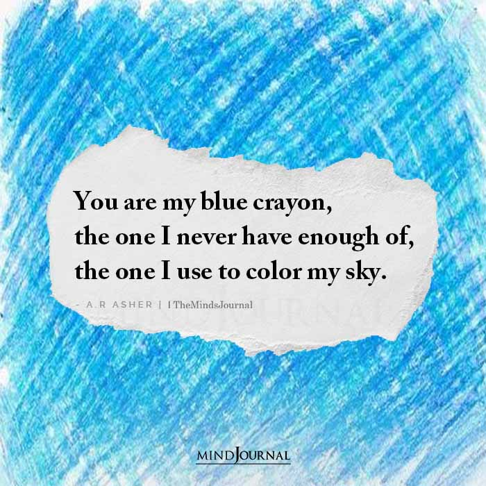 You Are My Blue Crayon