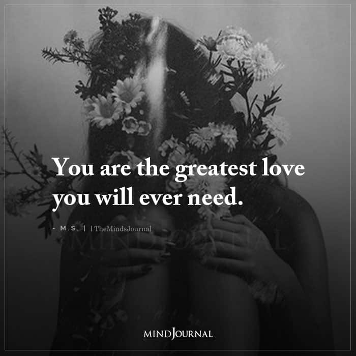 You Are The Greatest Love