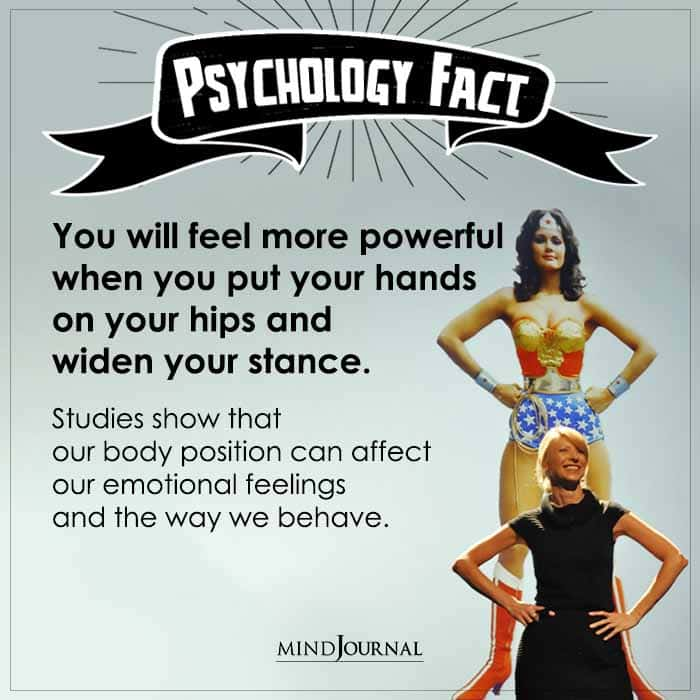 You Will Feel More Powerful When You Put Your Hands On Your Hips