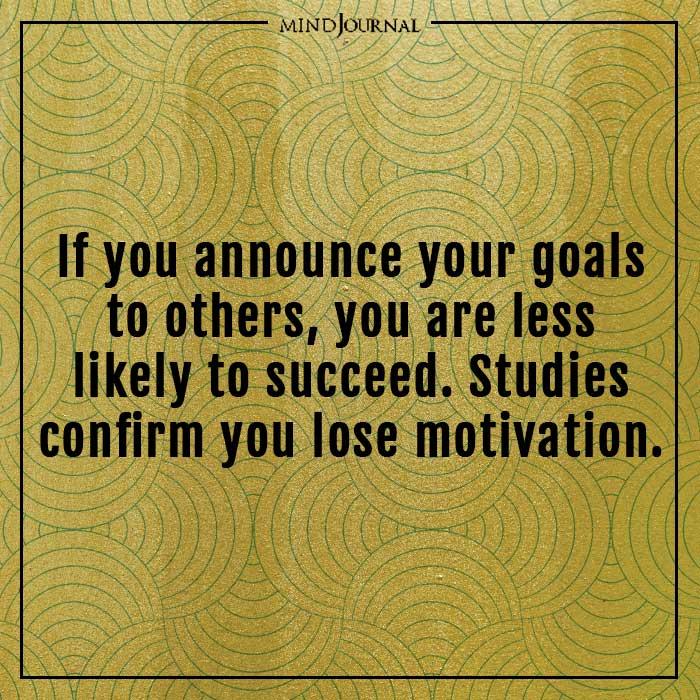 amazing psychological facts lose motivation