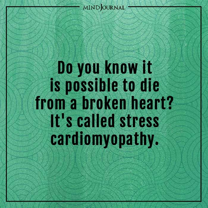 amazing psychological facts stress cardiomyopathy
