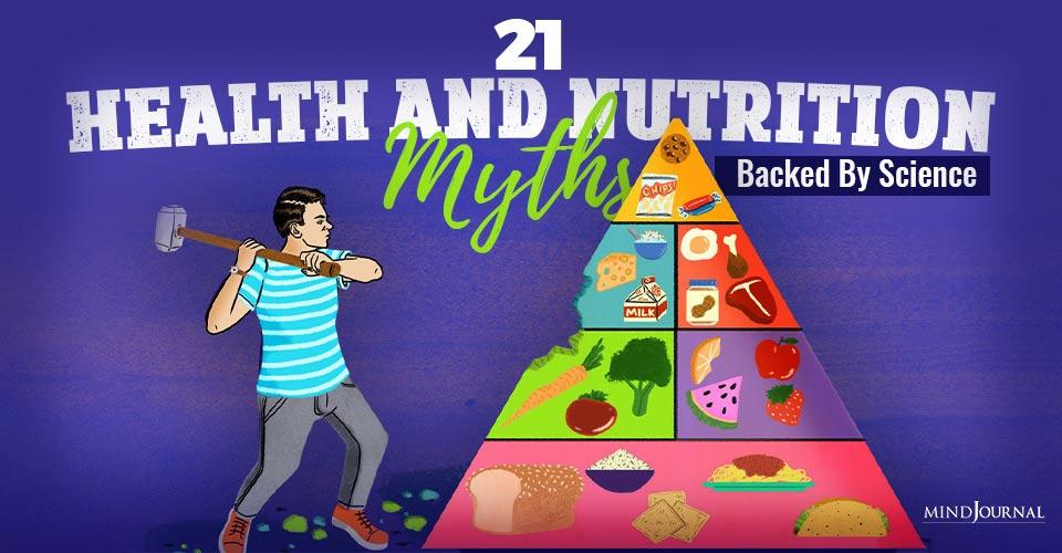 health and nutrition myths