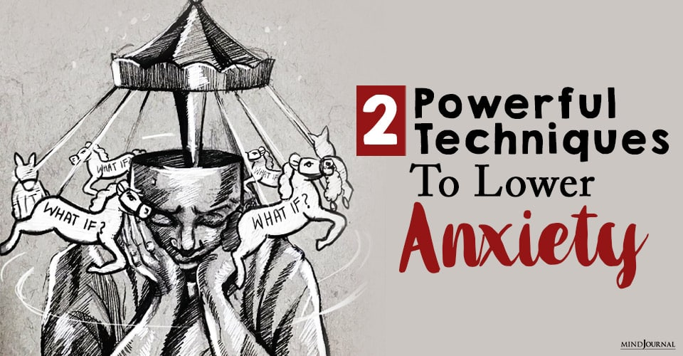 how to lower anxiety