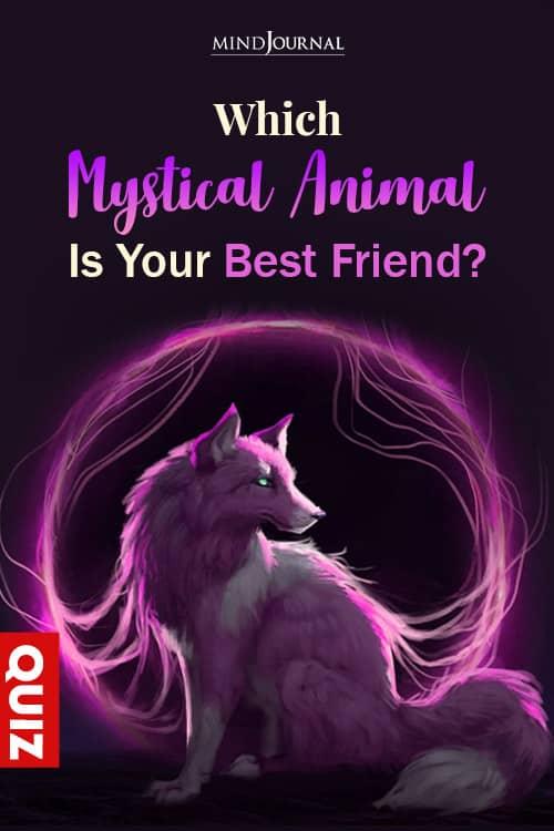mystical animal PIN QUIZ