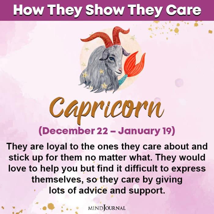 zodiac sign care capricorn