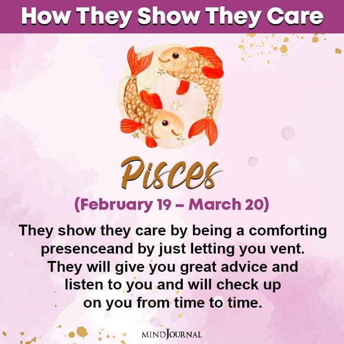 zodiac sign care pisces