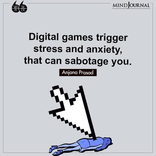 Anjana Prasad stress and anxiety sabotage you