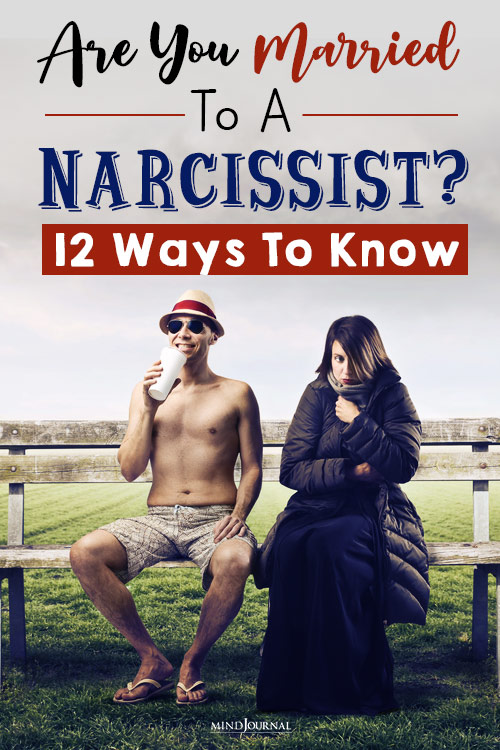 Are You Married to a Narcissist pin
