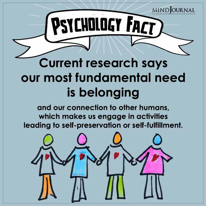 Current Research Says Our Most Fundamental Need Is