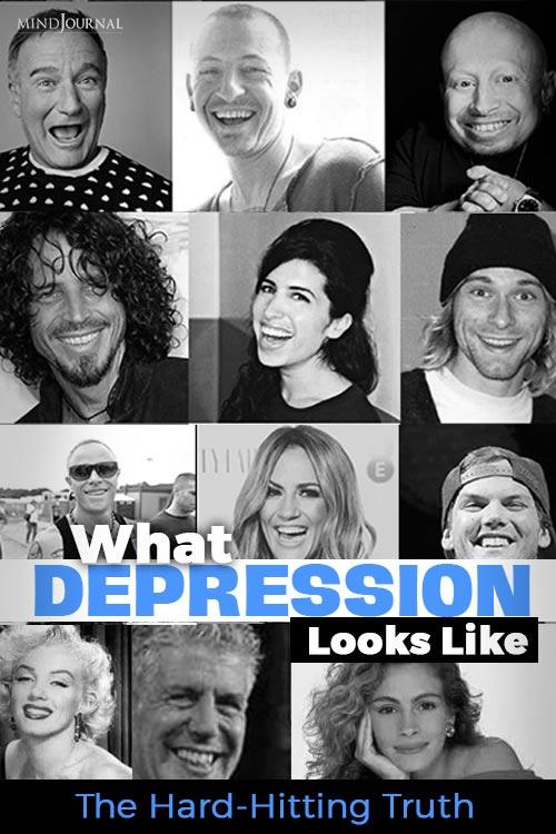 Depression Looks Like Pin
