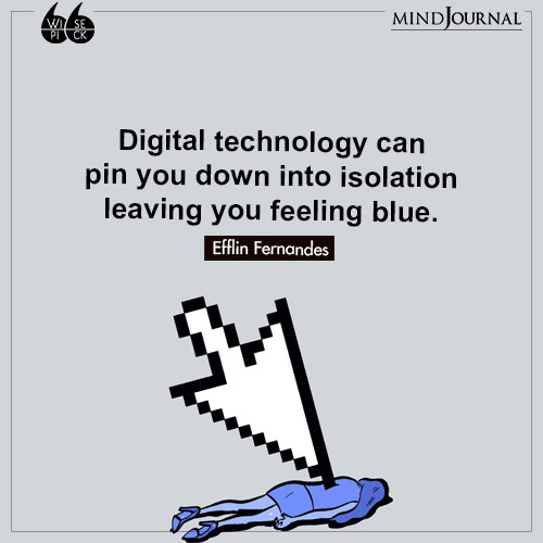 Efflin Fernandes pin you down into isolation