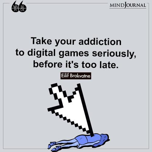 Eilif Brakvatne Take your addiction digital games