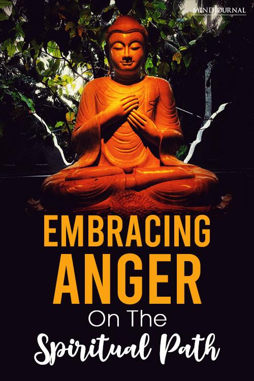 Embracing Anger on the Spiritual Path pin