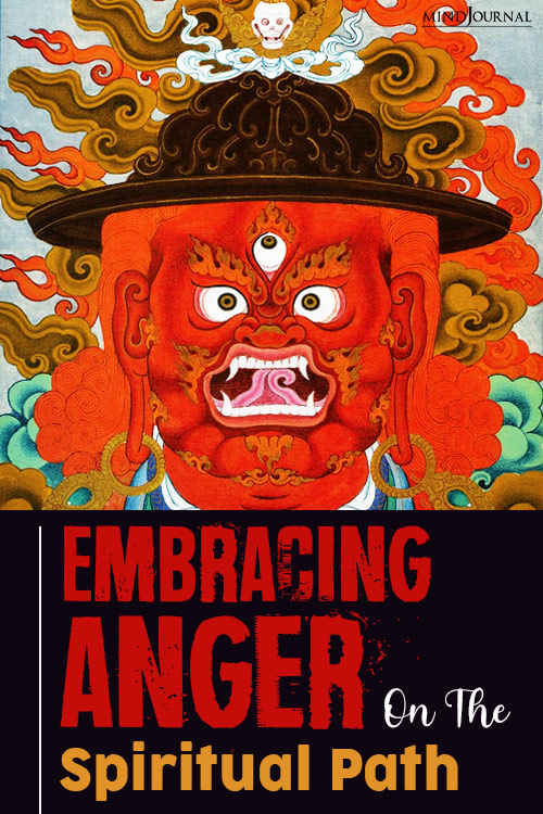 Embracing Anger pin