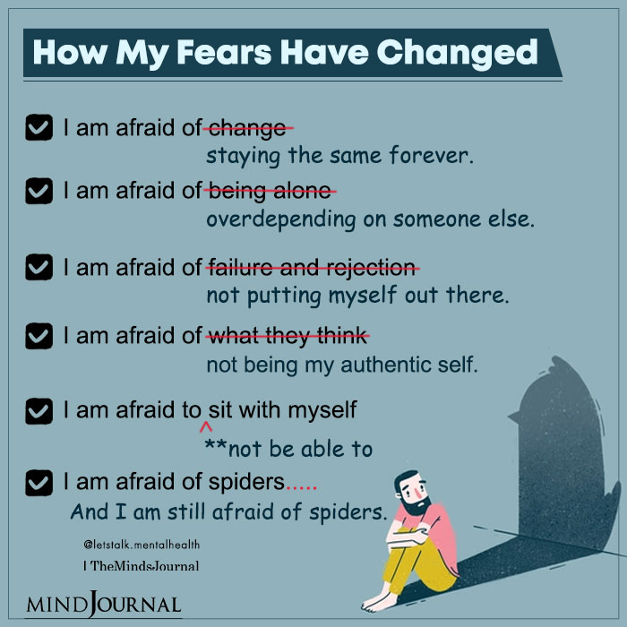 How My Fears Have Changed