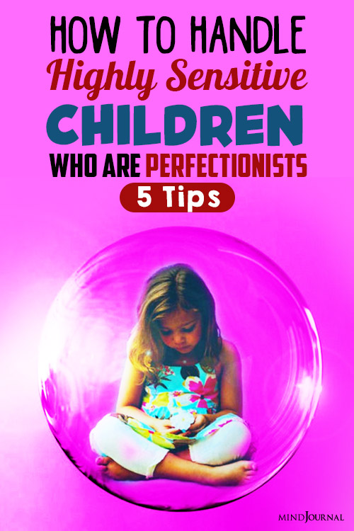 How To Handle Highly Sensitive Children Pin