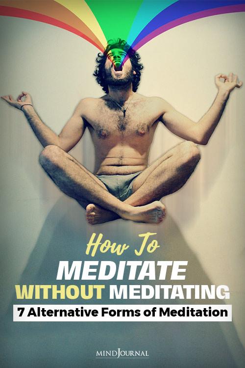 Meditate Pin