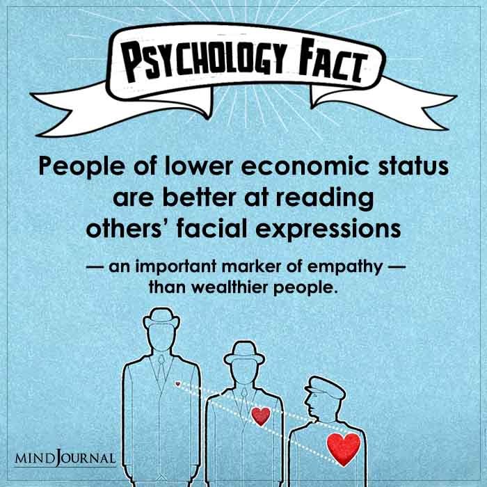 People of Lower Economic Status Are Better At