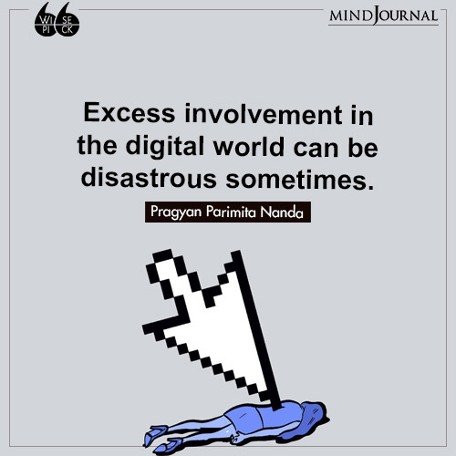 Pragyan Parimita Nanda Excess disastrous sometimes