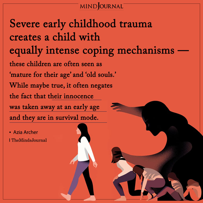 Severe Early Childhood Trauma Creates a Child With Equally