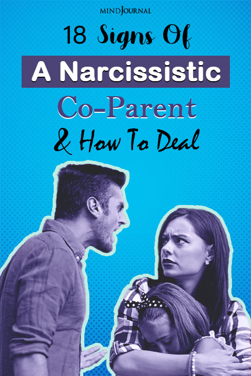 Signs Of A Narcissistic Co-Parent pin