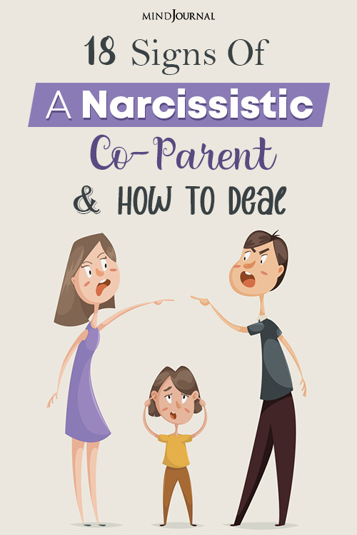 Signs Of Narcissistic Co-Parent pin