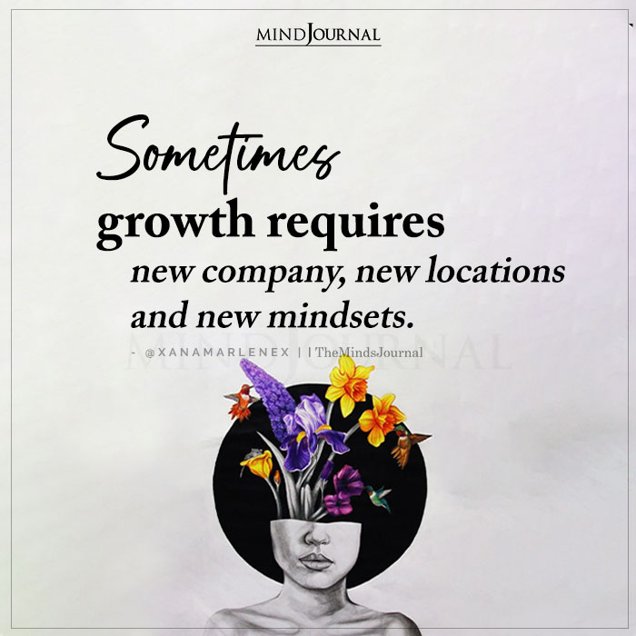 Sometimes Growth Requires New Company
