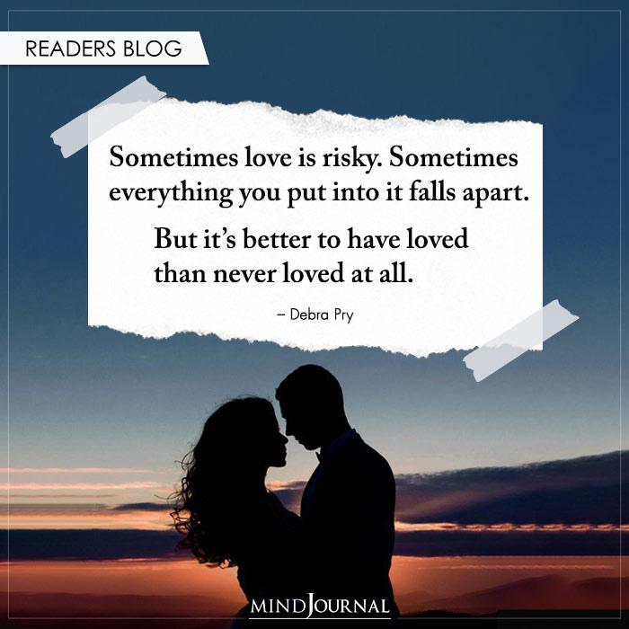 Sometimes-love-is-risky